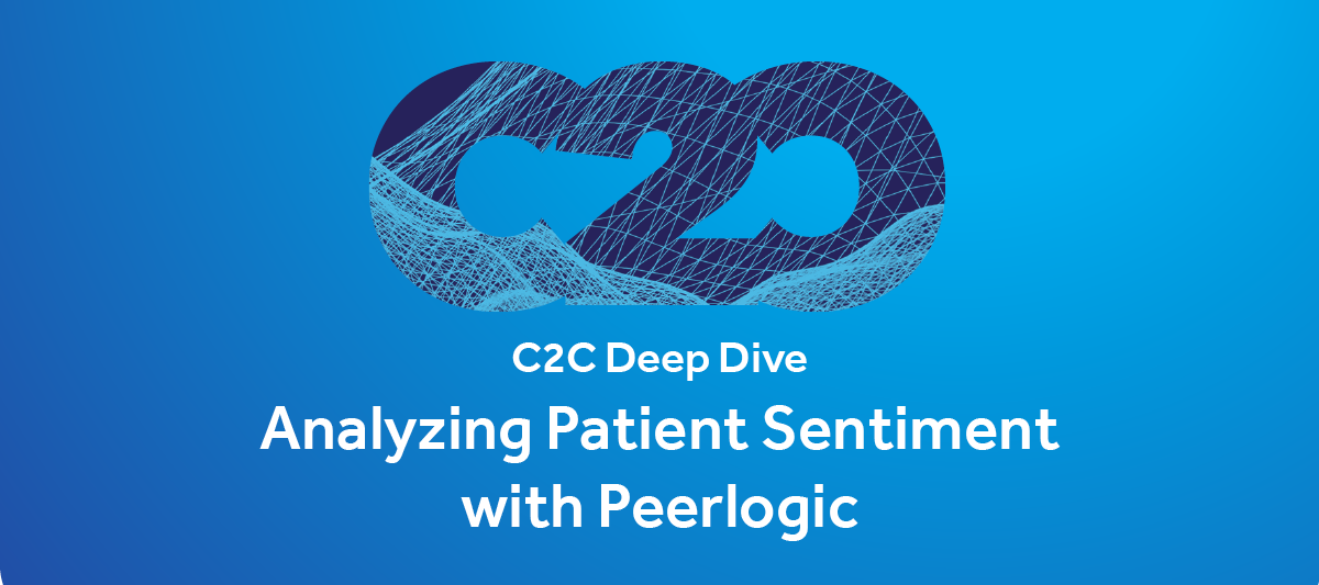 Analyzing Patient Sentiment with Peerlogic (full video)