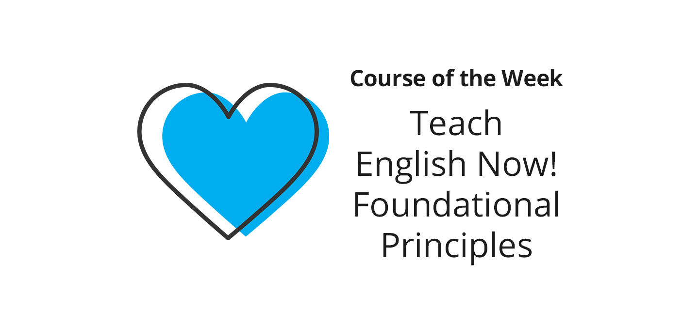 Teach English Now! Foundational Principles – What did you learn?