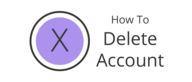 How to delete your community account