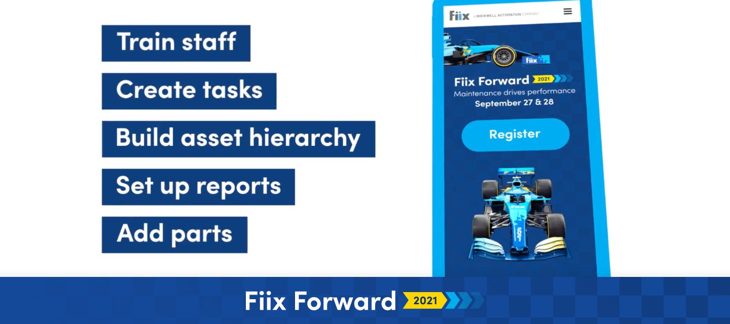 🏁 Session Highlight 🏁 Fast track the key lessons learned over 1000s of Fiix implementations