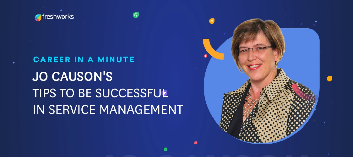Career In A Minute | Jo Causon's Tips To Be Successful In Customer Service