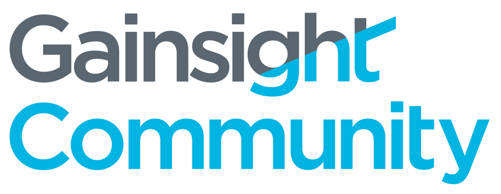 Gainsight Community Logo