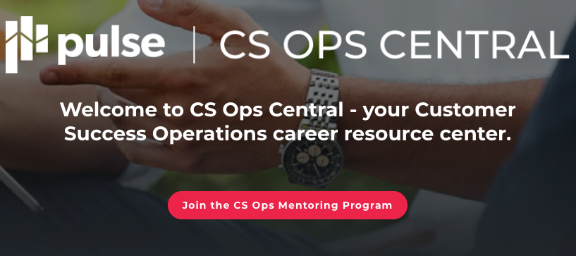 New CS Ops Mentoring & Training Resources