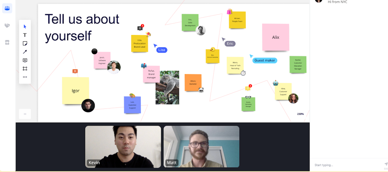 Adding Interactivity to your Events with Miro