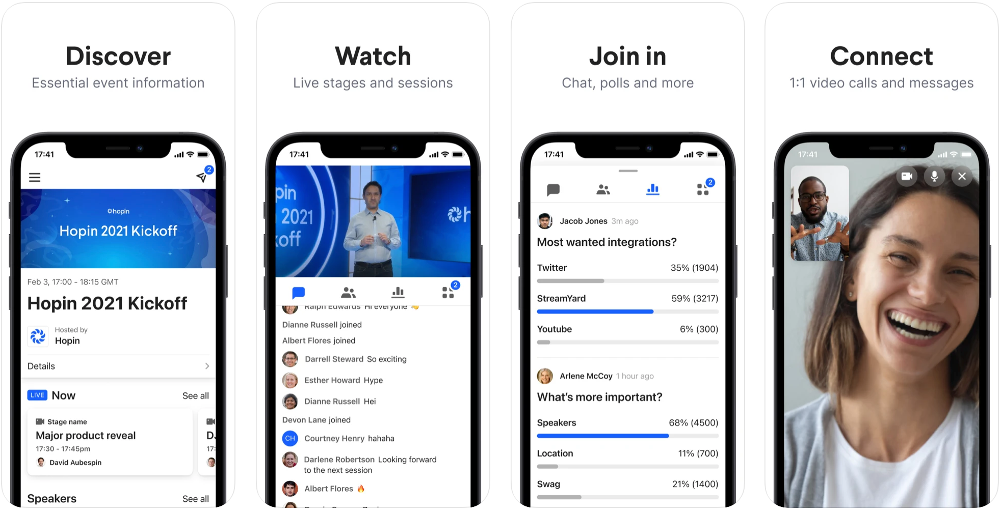 New: The Hopin mobile app is now LIVE!   Community