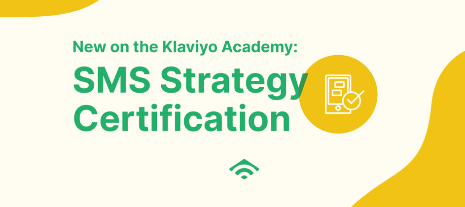 Own Your Growth! Announcing the SMS Strategy Certification