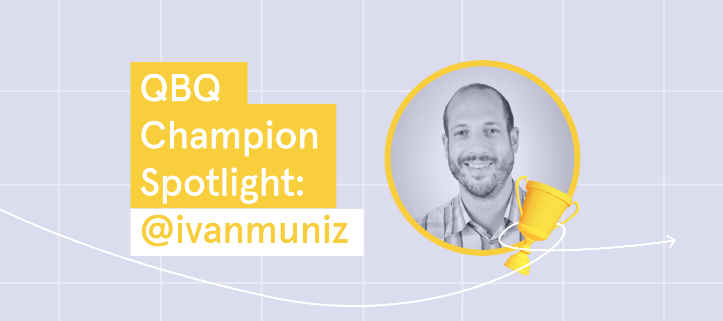 Click to meet @ivanmuniz, our QBQ Champion of the week!