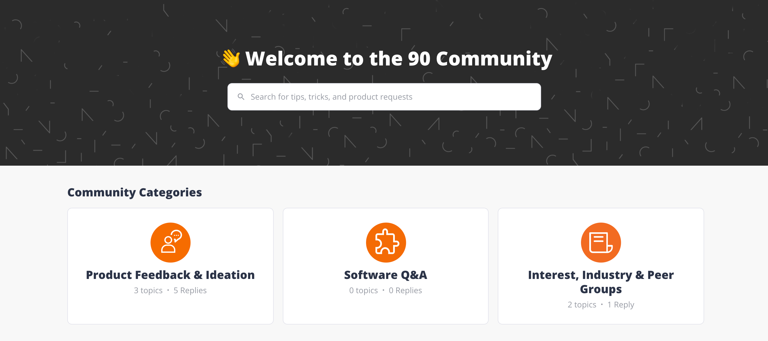 Community has launched!