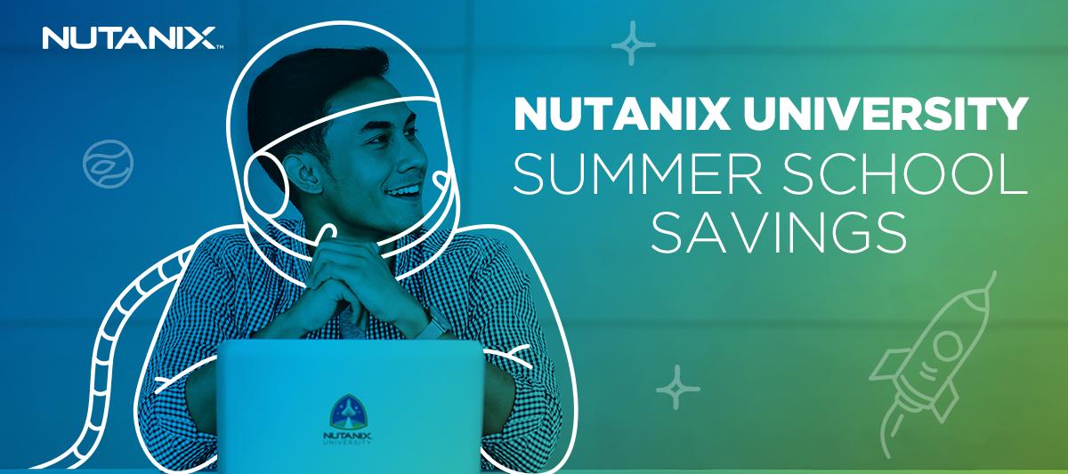 Free Training + Free Exams from Nutanix University