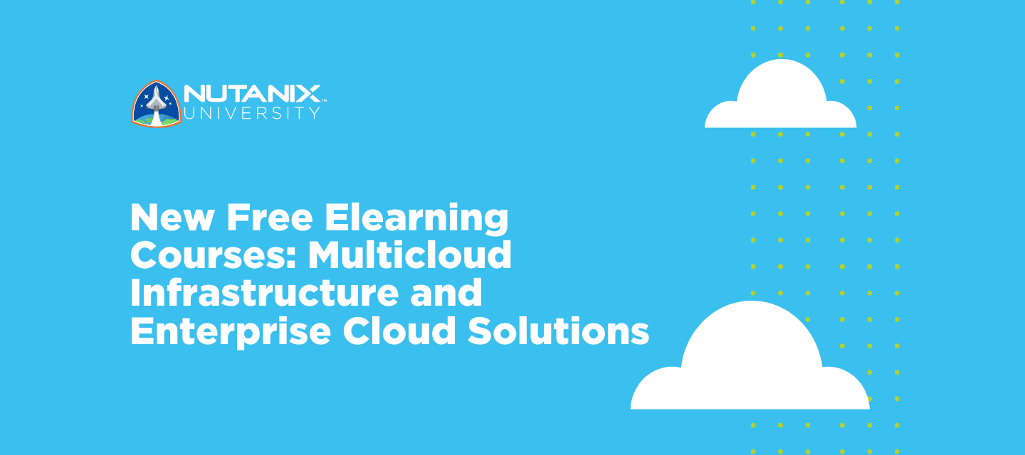 New Free Elearning Courses: Multicloud Infrastructure and Enterprise Cloud Solutions
