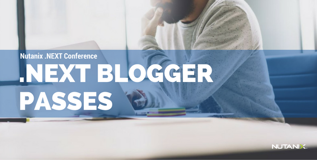 .NEXT 2016 Europe Blogger Passes Available