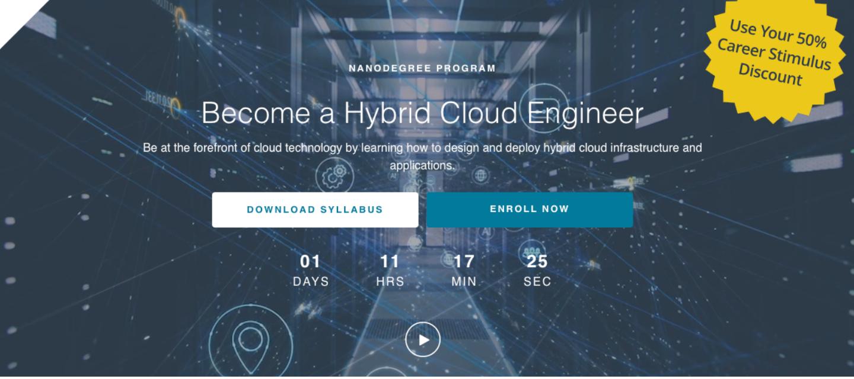 The Hybrid Cloud Engineer Nanodegree Program from Udacity & Nutanix is Now Open