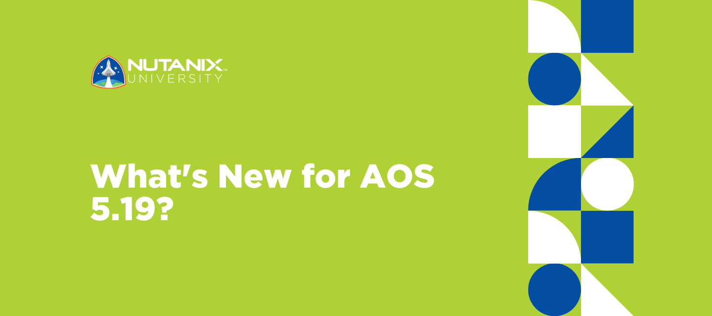 What's New for AOS 5.19?