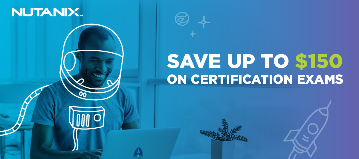 Save up to $150 on your next certification today!