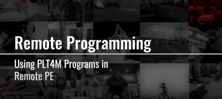 Programming Options for Remote PE