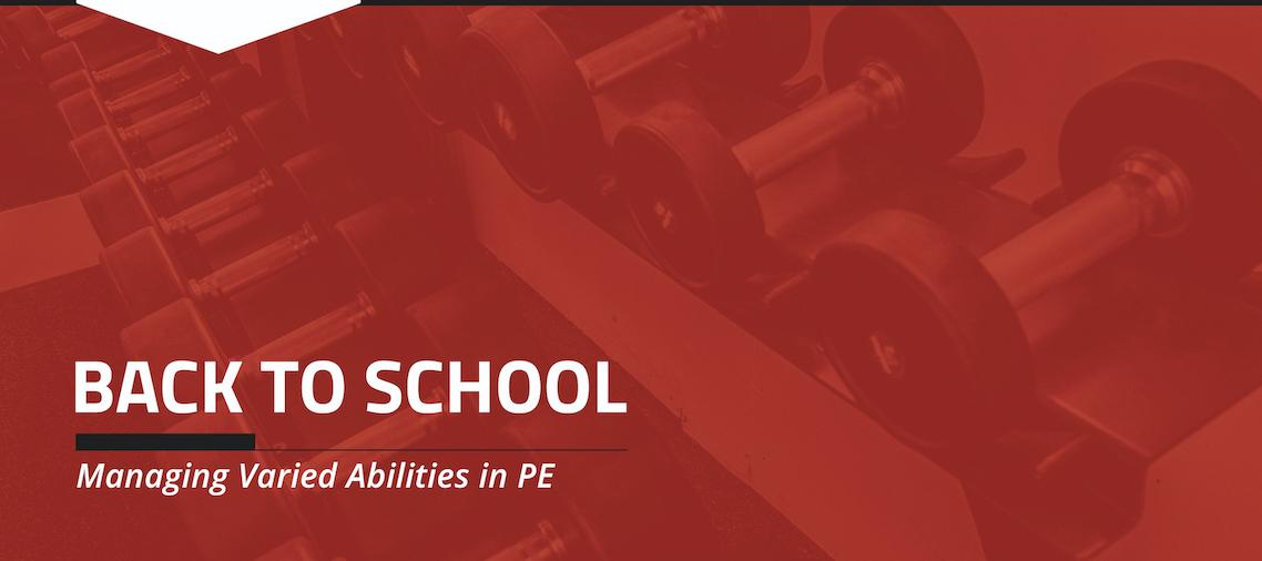 Managing Varied Abilities in PE