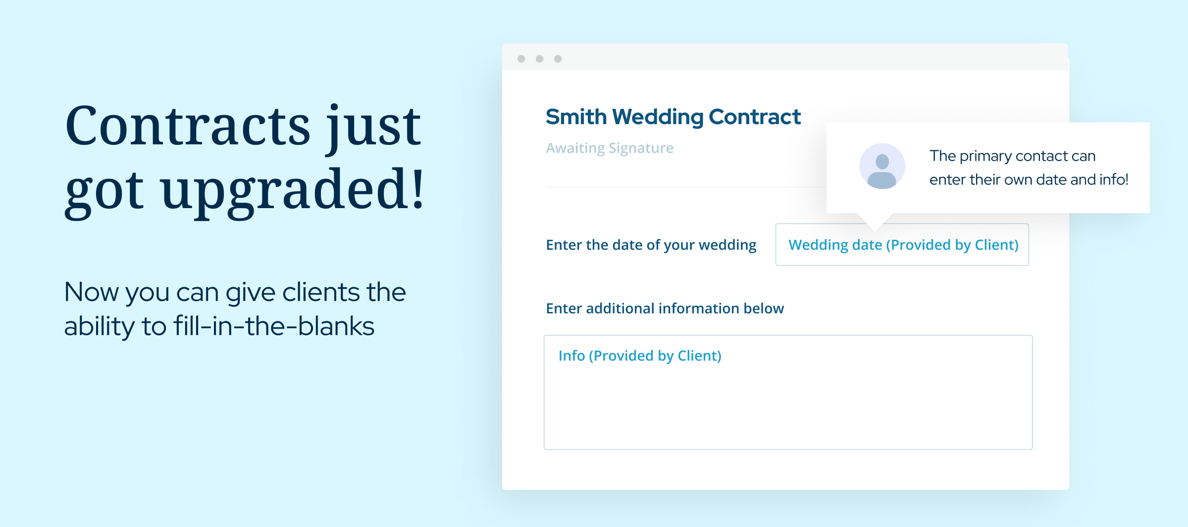 Fill-In-The-Blank Contracts: Quickly Collect Valuable Client Information