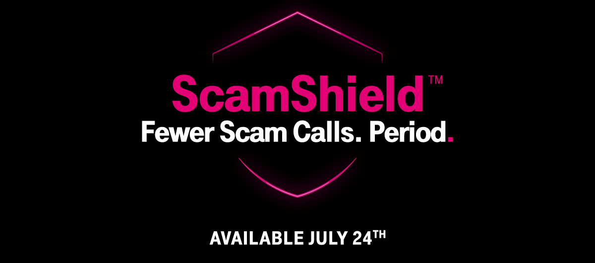 FEWER SCAM CALLS. PERIOD