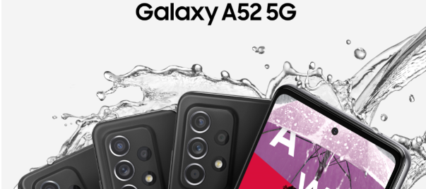 New Samsung Galaxy A52 5G