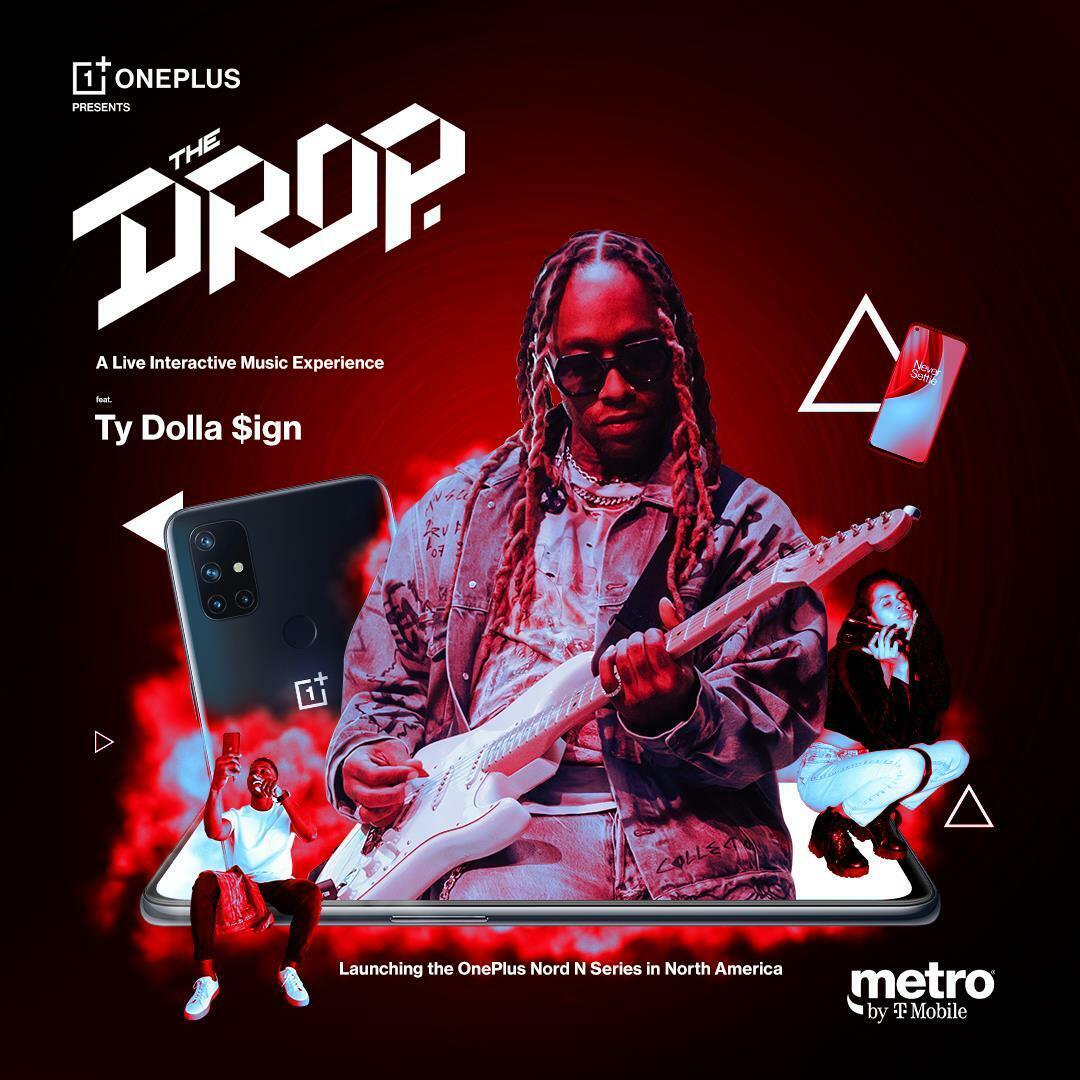 OnePlus the drop