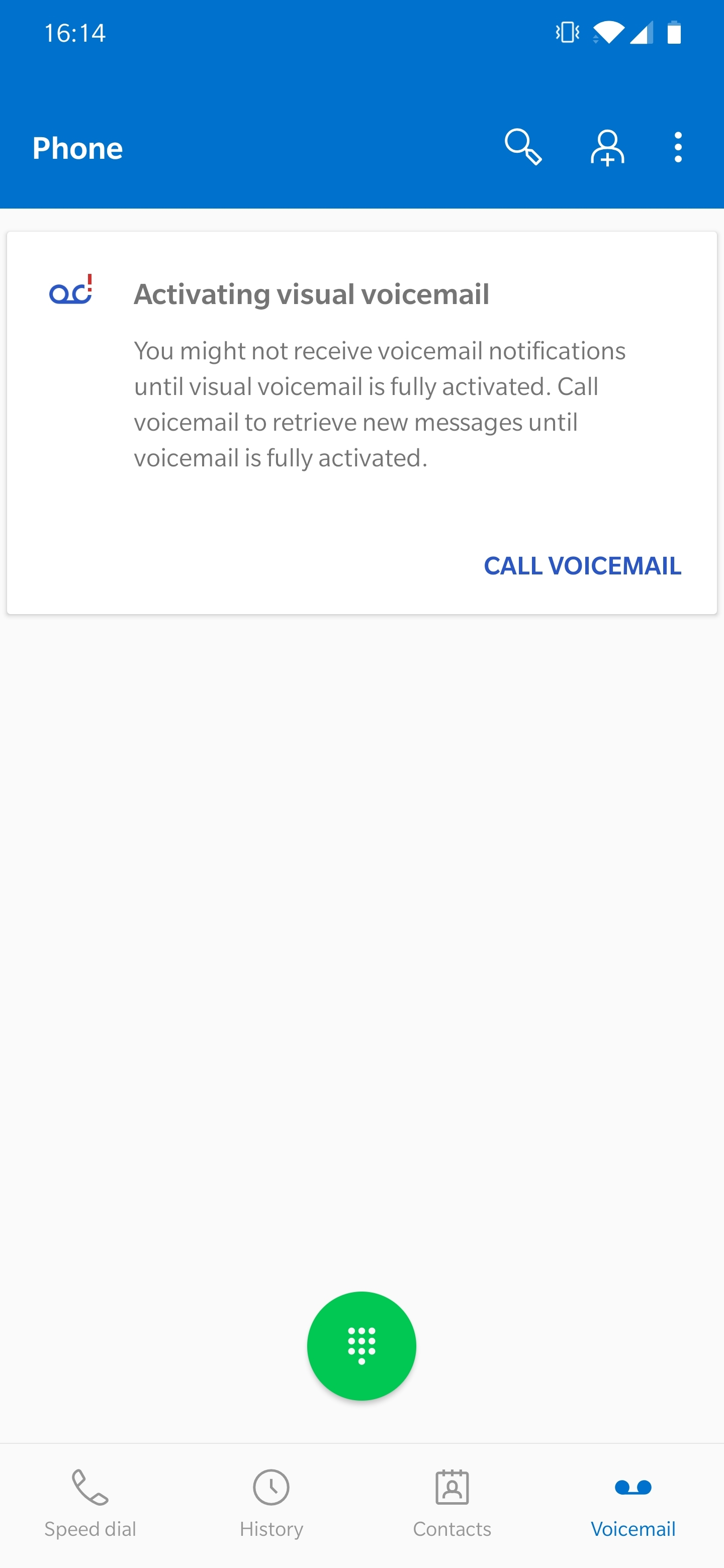 Oneplus 7 Pro Visual Voicemail In Phone App T Mobile Community