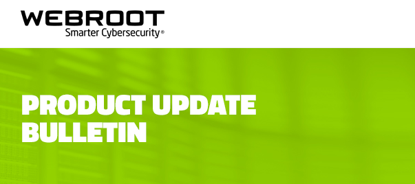 Product Bulletin: Agent changes in PC build 9.0.27.64