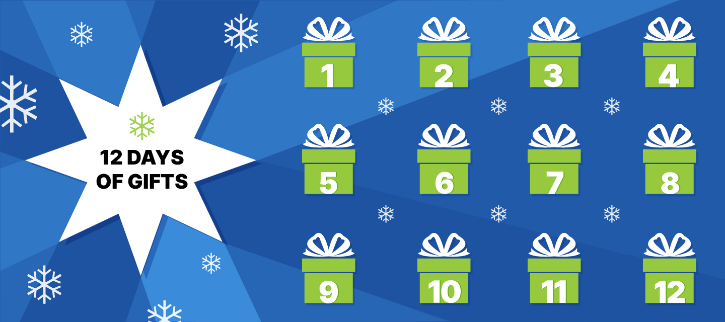 'Tis the Season – 12 Days of Gifts!