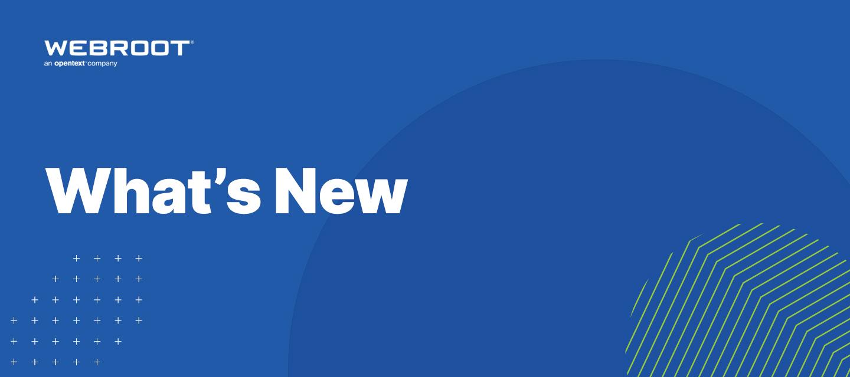 What's New at Webroot: November 2020