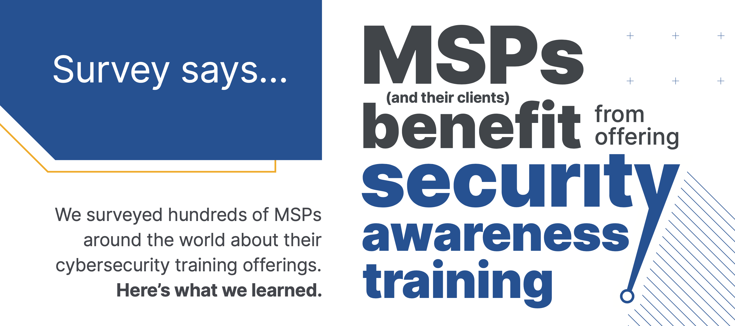 [Infographic] MSPs benefit from Security Awareness Training