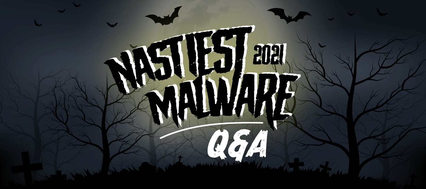 Nastiest Malware Q&A + Vote for this year's Nastiest!