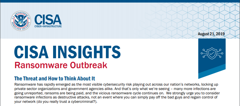 Weekly Threat News: 22nd August, 2019