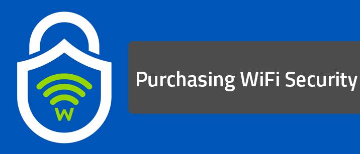 Purchasing Webroot WiFi Security