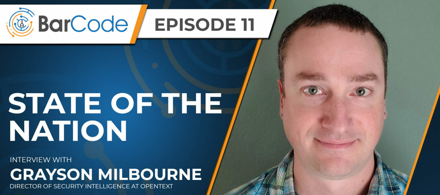Grayson Milbourne, Director of Security Intelligence joins the BardCode Podcast