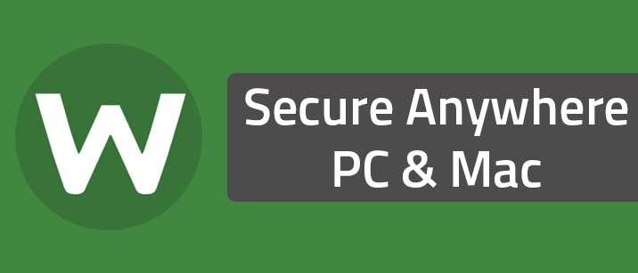Secure Anywhere PC & Mac