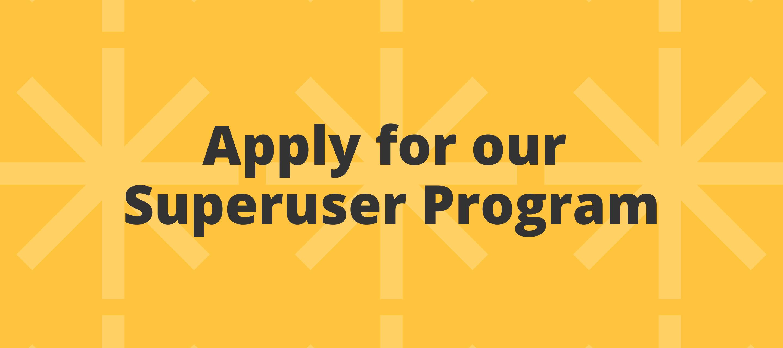 Apply for the Zapier Superuser Program!