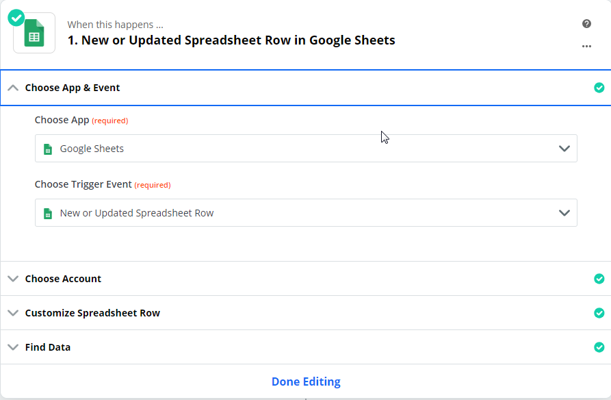 New or Updated Spreadsheet Row in Google Sheets - Step 1.png