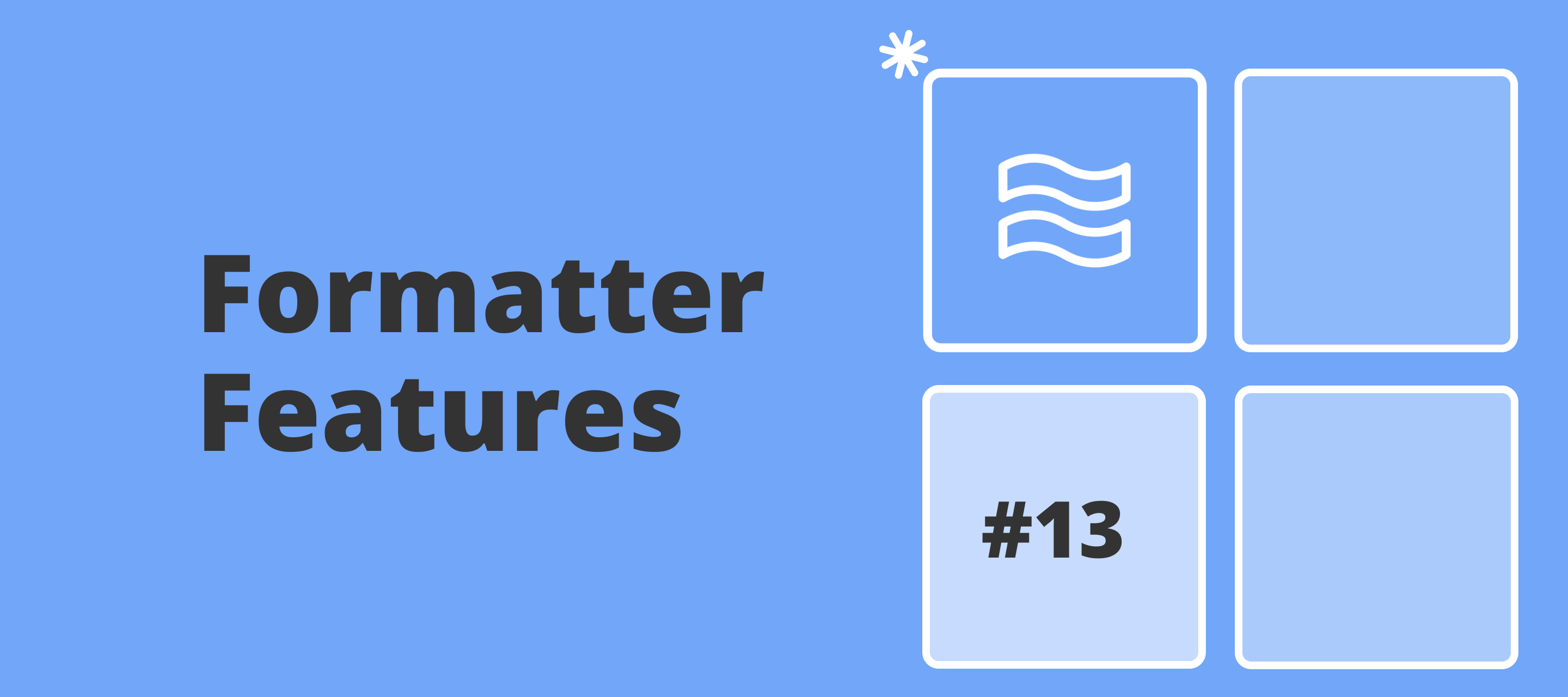 Formatter Features: Import CSV